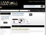 Annuaire de qualité 1000 Directory