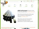 Volières aluminium, tube barre alu