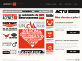Agence-e, Cabinet de recrutement Web