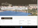 Site d'agence immobilière à Gerardmer dans les Vosges