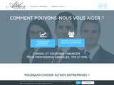 Althos Entreprises : conseils et courtage financier pour entreprises