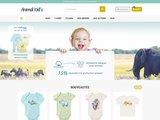 Animal kids, vêtements en coton organique pour bébé et enfant