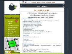 Dépannage informatique à domicile en Aunis