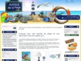 Décoration marine et articles de plage pas cher