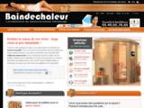 Baindechaleur : spécialiste de la vente de saunas