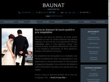 Baunat, boutique e-commerce de bijoux en diamants