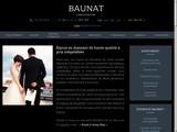 Baunat, boutique e-commerce de bijoux en diamants