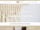 Boutique Macramé: Le site en ligne spécialiste du macramé en France.
