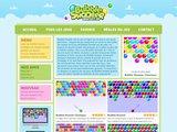 Sur ce site internet, tu peux jouer à des jeux de Bubble Shooter en ligne
