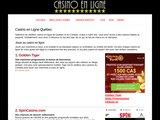 Casino en Ligne Québec - Jeux Payants en Argent Réel au Canada