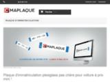 Cmaplaque - Boutique de plaque d'immatriculation
