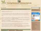 Compléments alimentaires - Information