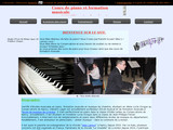 Cours piano Nancy et agglomération
