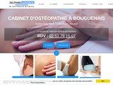 Ostéopathe diplômée pour ses patients de Bouguenais et Nantes