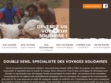 Double Sens, agence de voyages solidaires