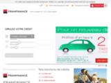 Franfinance : Prêt auto-moto