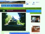 Acceuil de gite ou cabane de trappeur en Auvergne
