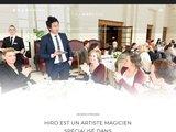 Magicien mentaliste à Paris : Hiro Magie, prestidigitateur, mentaliste