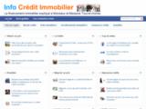 Info crédit immobilier