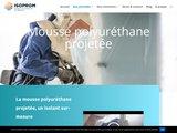 Le spécialiste de la mousse polyuréthane projetée - ISOPROM