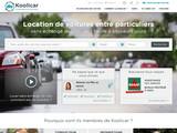 Koolicar : location de voiture entre particuliers