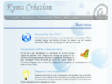 Kyms Création, création site internet