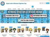 Vente en ligne de figurines Funko Pop pas cher sur KYSEII.fr
