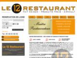 Le 12 Restaurant : Cuisine de Cuisinier