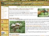 Cabane dans les arbres – Les cabanes de Fontaine