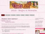 Létizia - Bougies et Décoration