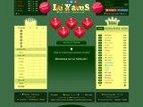 Jeu de Yams multijoueurs en ligne, grilles imprimables et règles du jeu