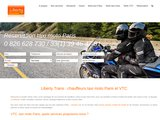 Réservation des services taxi moto à Paris Orly et Roissy de Liberty Trans
