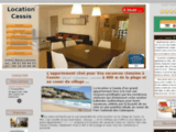 Location Cassis vue mer