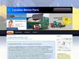 Location de benne à Paris 75