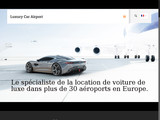 Luxury car airport:Location voiture luxe