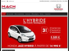 Mach Automobiles - Honda Paris