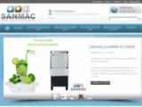 Sanmac : machines à glaçons professionnelles