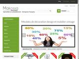 Makossa.fr : Mobilier design et vintage