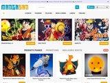Manga-San : Figurines Manga de collection Dragon Ball Z, One Piece, Naruto