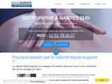 Cabinet ostéopathe à Nantes et Bouguenais au service de l'humain