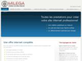 Création de site internet : agence Milega