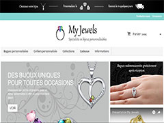 Bijoux personnalisables My Jewels