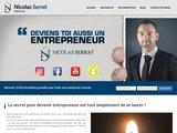 Nicolas Serrat, un entrepreneur qui vous aide à devenir auto-entrepreneur
