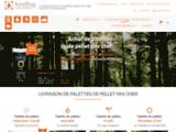 palette-pellets.be, boutique en ligne de pellets 100% naturels et pas cher