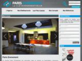 Paris Evenement, location de salles à Paris