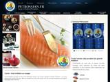 Retrouvez le caviar Petrossian chez vous