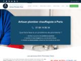 Art Plombier Paris : votre artisan plombier chauffagiste agréé