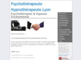 Psychothérapies et Hypnose Ericksonienne à Lyon Villeurbanne