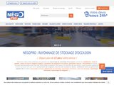 NégoPro : votre spécialiste du rayonnage de stockage d'occasion