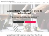 Description du site de Florian — Consultant SEO Wordpress à Nice